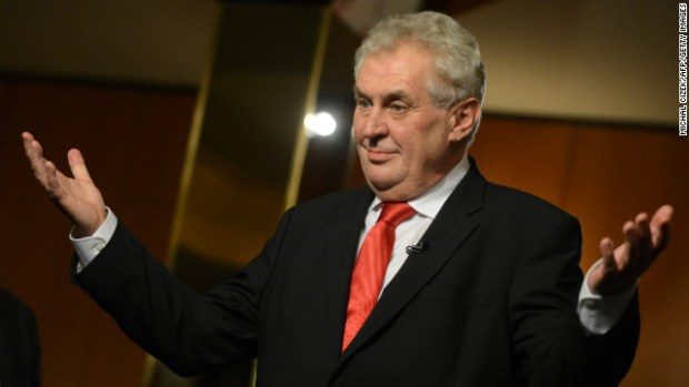 Miloš Zeman  Czech Republic ratifies Paris Agreement as 167th Party Milo   Zeman