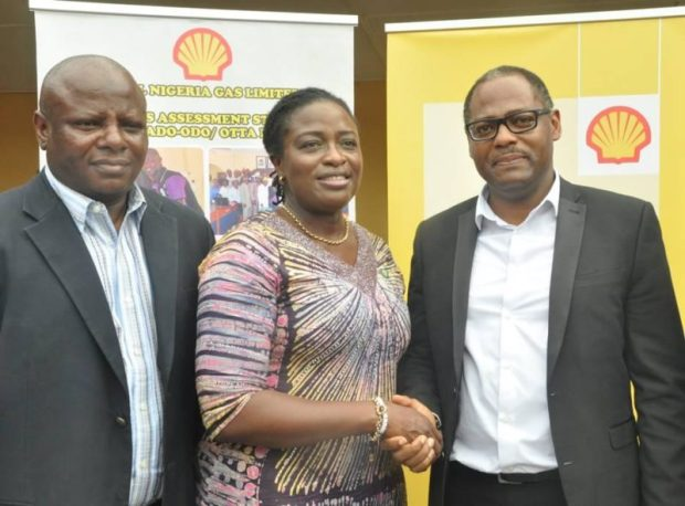 Shell Gas  Shell donates labs, ICT centre to Ogun community school Shell Gas e1508081177910