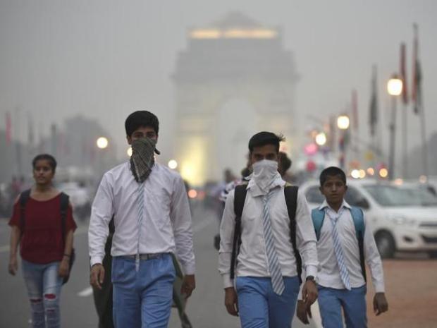New Delhi pollution
