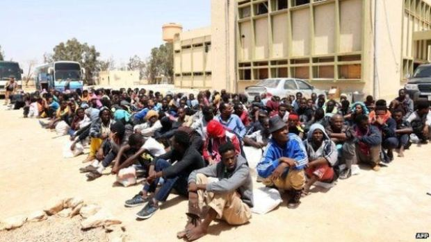 Migrants in Libya  International Migrants Day: Transforming Africa's rural areas key to curtailing migration Migrants in Libya sold into slavery