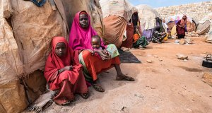 Displaced Somalians