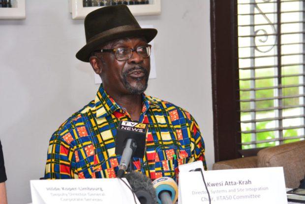 Kwesi Atta-Krah  IITA, NSE launch Nigeria Stockbrokers Agribusiness Group Kwesi Atta Krah e1512690474485