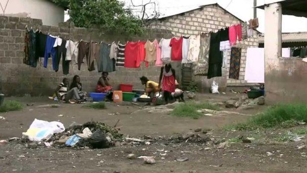 Lusaka slum