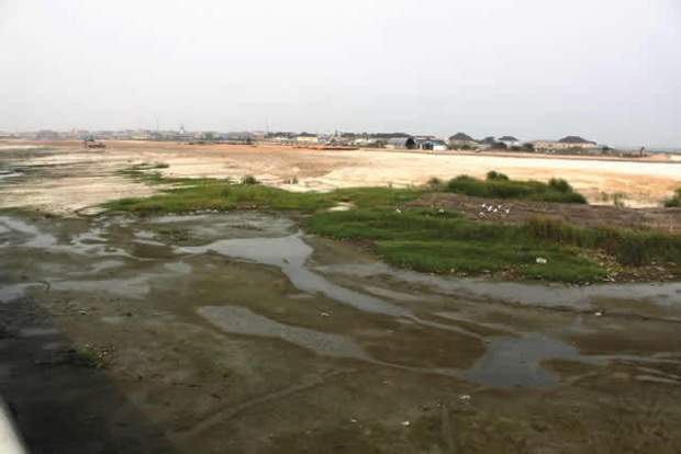 Lagos Lagoon  Fishing community laments disorder from Lagos Lagoon reclamation A portion of the 29