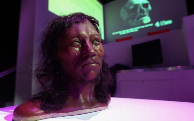 First modern Briton  First modern Britons had 'dark to black' skin – Scientists Face e1518017697368