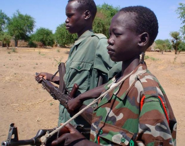Child soldiers  World failing to stop war on children, says UNICEF child