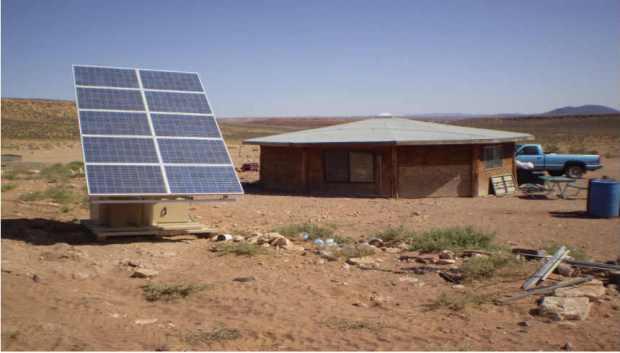 Off-grid solar energy
