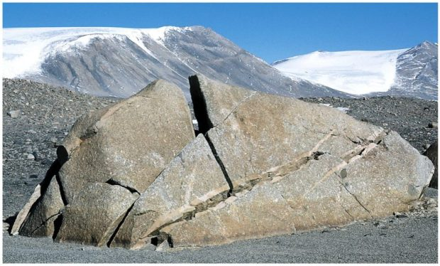 Rock weathering