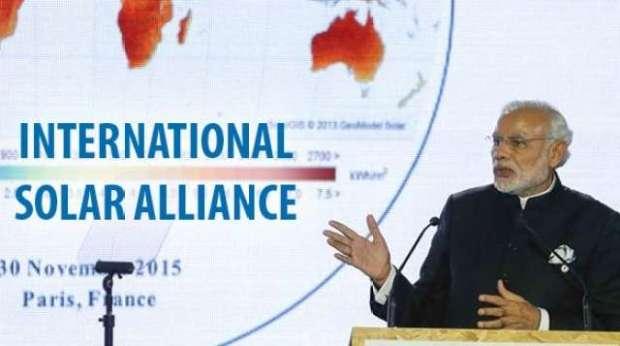 International Solar Alliance  Fresh boost for renewable energy as International Solar Alliance is launched Solar