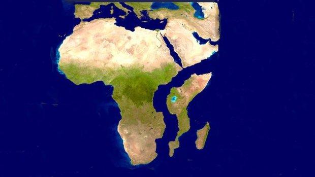 Africa split