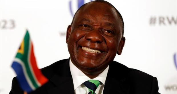 President Cyril Ramaphosa of South Africa  COVID-19: South Africa now 900, Nigeria hits 65, U.S. world's highest with 81,321 Cyril Ramaphosa