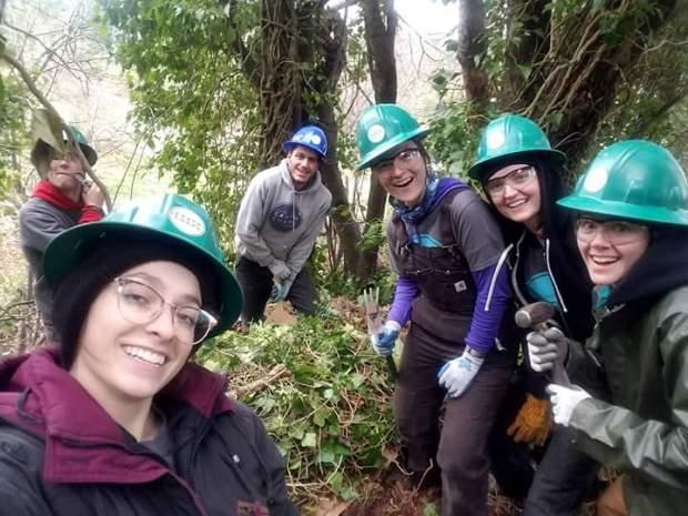 Adnane crew members, EarthCorps  My Pacific Northwest Earthcorps journey (2) ADNANE CREW MEMBERS EARTHCORPS