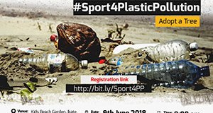 world environment day  Climate Wednesday to Celebrate World Environment Day with #Sport4PlasticPollution – @ClimateWed world environment day