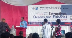 Nnimmo Bassey  Privatising the oceans through pollution Oceans