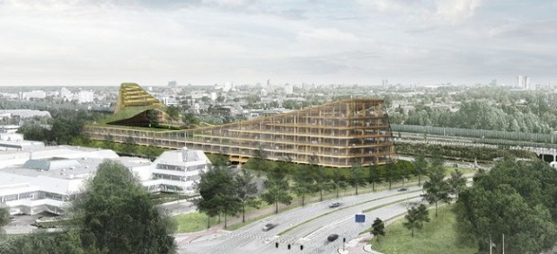 The-Dutch-Mountains  Timber towers sprout amid concern for the environment The Dutch Mountains