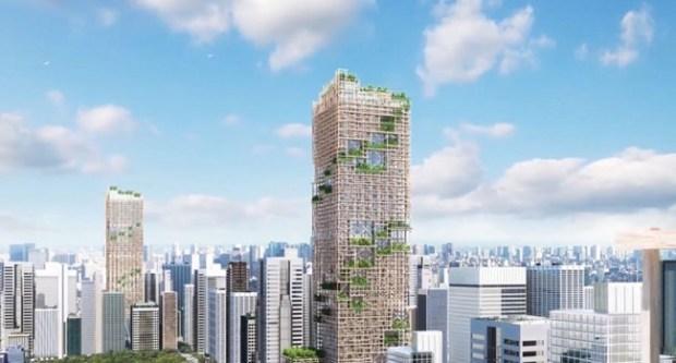 timber-tower-tokyo-japan