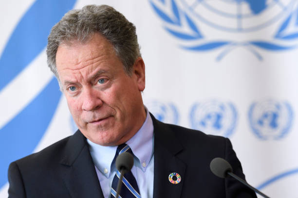 David Beasley  Trump-nominated UN agency chief says climate change a real threat David Beasley