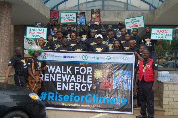 Abuja Rise for Climate Walk