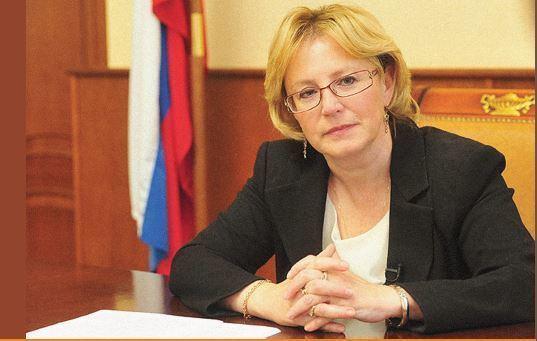 Veronika Skvortsova  Russia creates new powder vaccine against Ebola Veronika Skvortsova