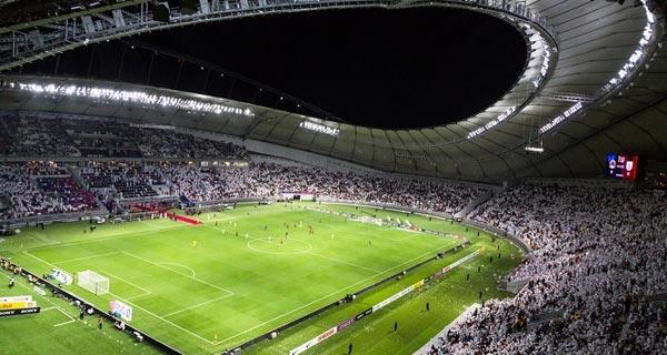 Khalifa International Stadium  Top five sustainable stadiums in the world Khalifa International Stadium
