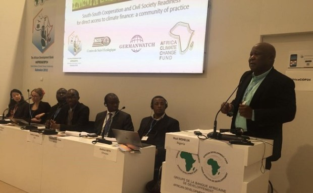 Huzi Mshelia  Images: Nigeria faces, functions at COP24 IMG 20181213 WA0008