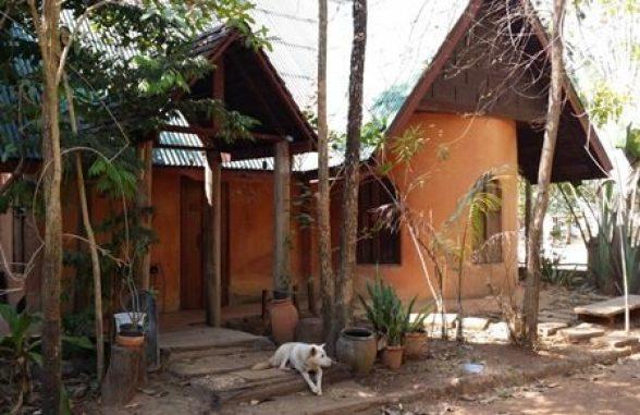 Modernised mud house