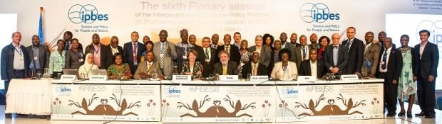 Africa Delegation IPBES-6