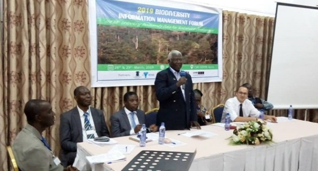 Prof. Alfred Oteng-Yeboah  Lack of data blamed for Africa's loss on investments in conservation IMG 20190410 WA0064