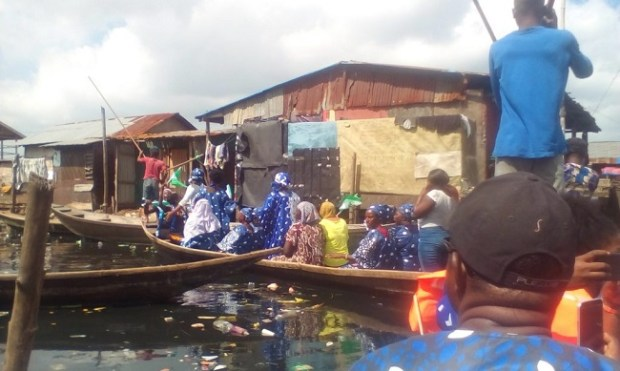 Ogundimu Fishing Community  Lagos fishing community wants LAWMA to curtail Lagoon waste pollution Fishing Community