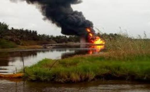 Oil well inferno