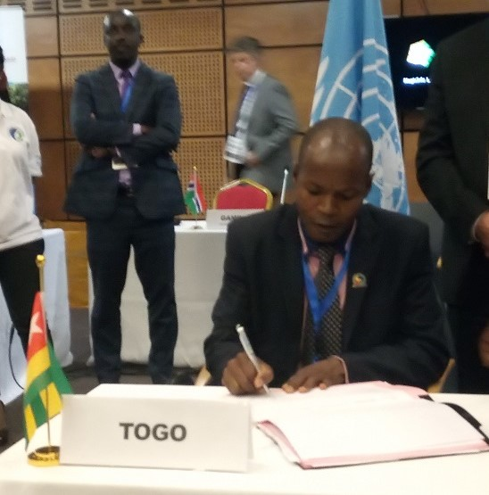 Abidjan Convention  Images: Countries endorse new protocols under Abidjan Convention IMG 20190702 142344