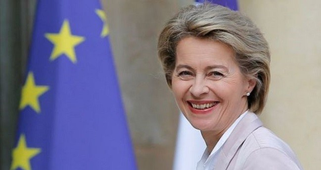 Von Der Leyen Calls For 'unity' Between Europe, Au