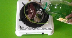 Biogel stove