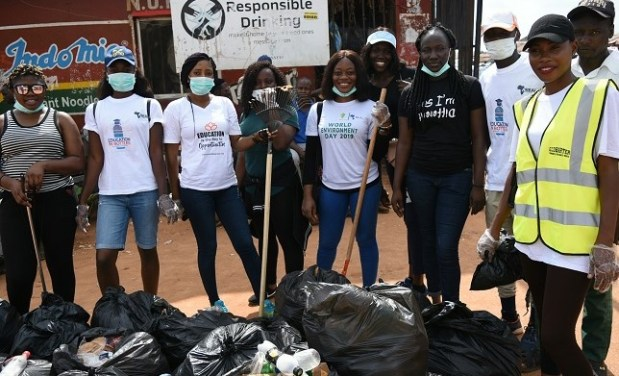 World Cleanup Day  Cleanup Day: Volunteers scrub Abuja, clamour public infrastructure DSC 1461 resized