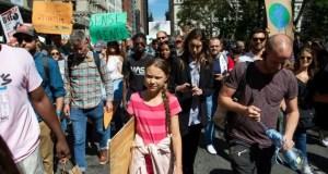 Greta Thunberg  'The world is on fire,' Greta Thunberg tells UK climate rally Greta