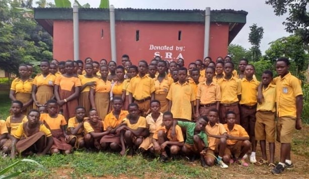 Aboagyekrom Junior High School   Forest governance and answering nature's call Students 1