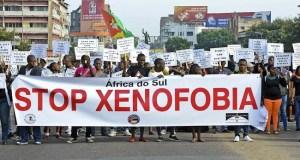 Xenophobia attacks protesters