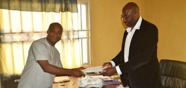 Alex Ekwueme Federal University   Okereke resumes as head of Ekweueme varsity's Centre for Climate Change and Development mail 2