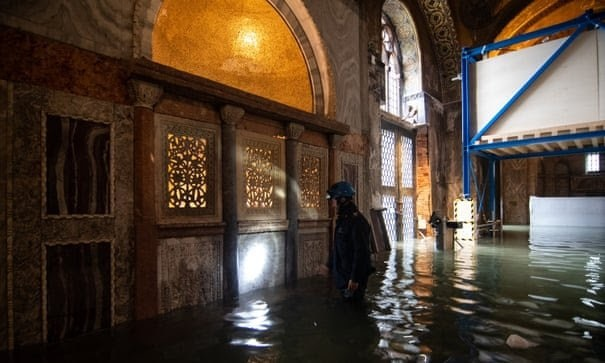 Veneto regional council  Italian council flooded after rejecting measures on climate change IMG 20191116 WA0020