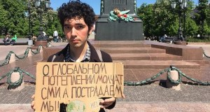 Arshak Makichyan  Group clamours release of detained Russian climate activist, Arshak Makichyan Arshak Makichyan
