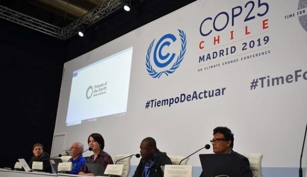 COP25 FoEI press conference