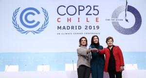 COP25 Venue Handover  COP25: President designate handed ownership of meeting venue COP25 Venue Handover