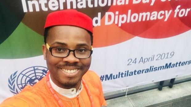 Gbujie Daniel Chiubern  Climate Scorecard names Gbujie Chiubern Nigeria's 2019 Climate Leader Gbujie Daniel Chiubern