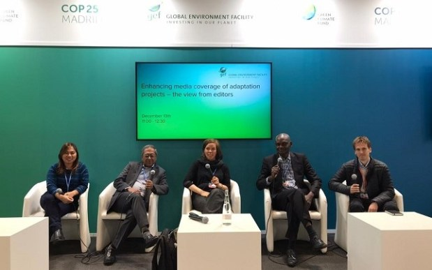 Michael Simire  Images: Nigeria's participation at COP25 IMG 20191213 WA0014