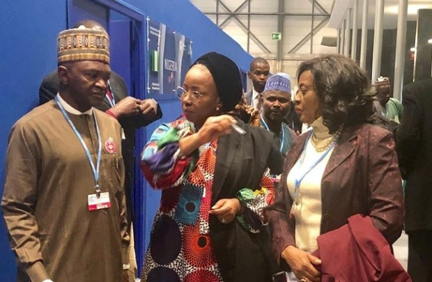 Muhammad Mahmood Abubakar  Images: Nigeria's participation at COP25 IMG 20191217 WA0066