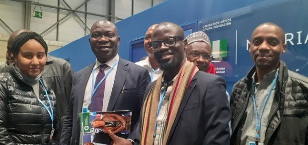 Nigerian youths at COP25  Nigerian youths to play central role at COP25 WhatsApp Image 2019 12 03 at 6