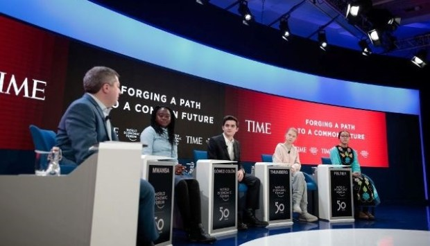 Youths  Young activists in Davos demand say for their generation Youths