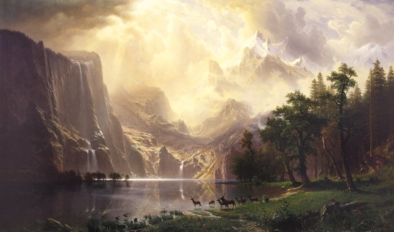 "Recent research reveals that the pristine landscapes that inspired the conservation movement and artists like Albert Bierstadt, who painted ""Among the Sierra Nevada Mountains, California,"" in 1868, haven't existed for millennia."