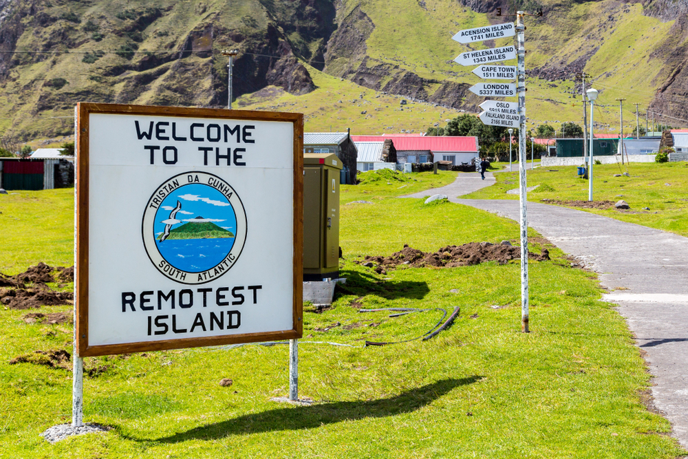 Tristan da Cunha Joins the UK's Blue Belt Program