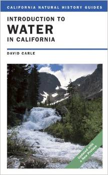 """The cover of the book """"Introduction To Water In California"""" by David Carle"""
